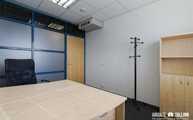 Privaatne kontoriruum 2-3 töökohta Tallinnas | Airgate Tallinn